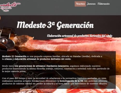 Modesto 3ª generación
