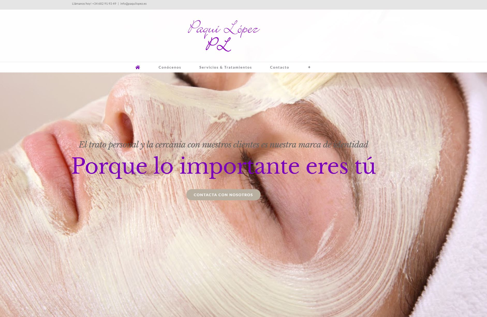 Centro de medicina estética Paqui López
